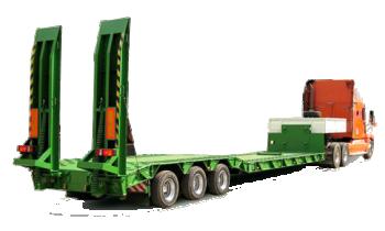 Грузоперевозки на Трал 30 тонн: низкорамный, корыто, 2 оси фото