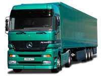 Грузоперевозки на Mercedes 20 тонн фургон длинномер фото