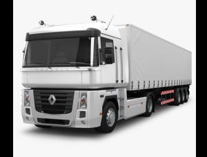 Грузоперевозки на Renault 20 тонн тент фото