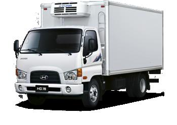 Грузоперевозки на Hyundai 10 тонн рефрижератор фото