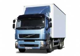 Грузоперевозки на Volvo 15 тонн фургон фото