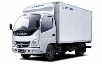Грузоперевозки на Foton 7 тонн изотерма фото