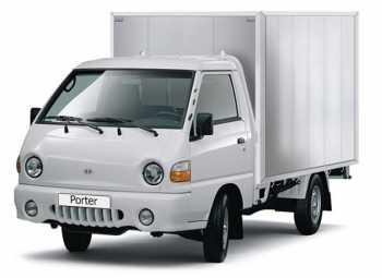 Грузоперевозки на Hyundai Porter 1 тонна фургон фото