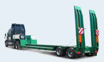 Грузоперевозки на Трал 45 тонн: раздвижной, прямой, 3 оси фото