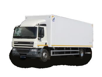 Грузоперевозки на Daf 15 тонн фургон фото