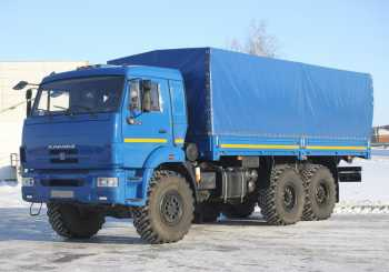 Грузоперевозки на закрытом вездеходе Камаз 15 тонн фото