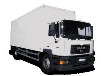 Грузоперевозки на Man 5 тонн фургон фото