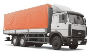 Грузоперевозки на Maz 20 тонн тент фура фото