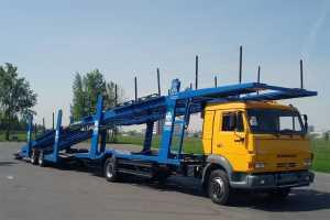 Грузоперевозки на автовозе Камаз 18 – 23 тонн фото