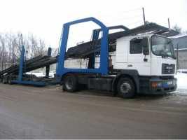 Грузоперевозки на автовозе Ман 18 – 23 тонн фото
