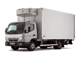 Грузоперевозки на Mitsubishi 3 тонны рефрижератор фото