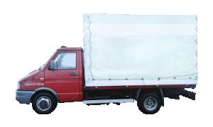 Грузоперевозки на Iveco 1,5 тонны тент фото