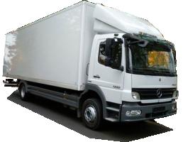 Грузоперевозки на Mercedes 11 тонн, фургон фото