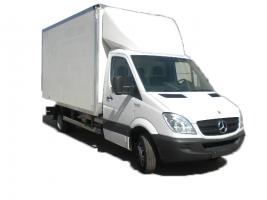 Грузоперевозки на Mercedes 1,5 тонны фургон фото