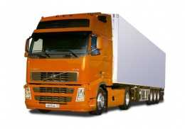Грузоперевозки на Volvo 20 тонн фургон тент фото