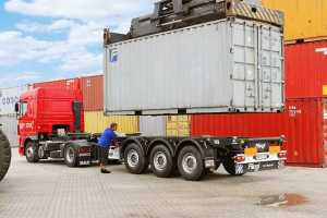 Грузоперевозки на автомобильной контейнерной площадке 20-28 тонн фото