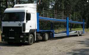 Грузоперевозки на автовозе Маз 18 – 23 тонн фото