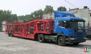 Грузоперевозки на автовозе Скания 18 – 23 тонн фото