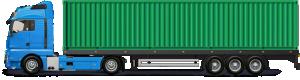 Грузоперевозки контейнером 18 тонн фото