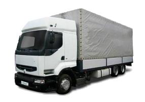 Грузоперевозки на Renault 10 тонн фургон фото